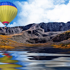 Baldwin Balloon by Ron Meyers - Transportation Other