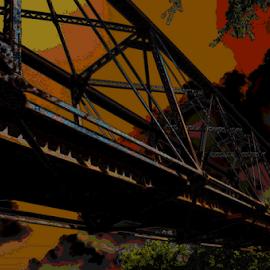 Old bridge by Benito Flores Jr - Digital Art Things