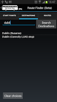 Screenshot of Bus Eireann Times Free