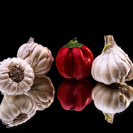 Touch of red... by Rakesh Syal - Food & Drink Fruits & Vegetables