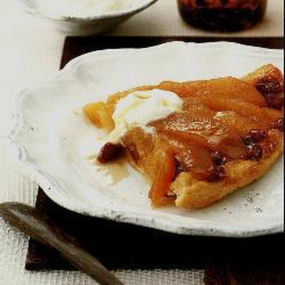 Apple And Sultana Tarte Tatin