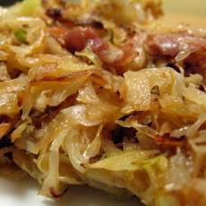Pan-Fried Cabbage