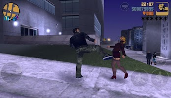 Screenshot of GTA3: 10주년 기념작