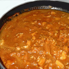 Ground Beef Curry Delight