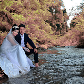 IR by Sandi Nopri yanto - Wedding Bride & Groom