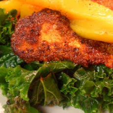 Citrus-Mango Spicy Tilapia and Kale
