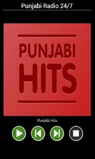Punjabi Radio 24/7 - screenshot