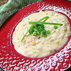 Cajun Corn and Crab Bisque
