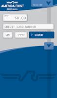 Screenshot of America First Mobile Merchant