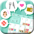 App YokubariDiary-stamp calendar apk for kindle fire