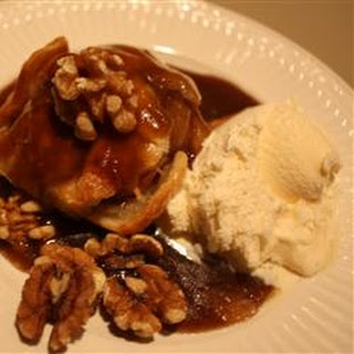 Apple Dumplings with Rich Cinnamon Sauce