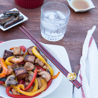 Dinner Under 30 Minutes – Quick and Easy Shrimp and Tofu Stir-fry