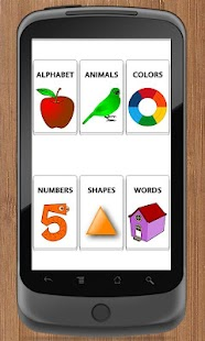 Talking Preschool Flash Cards - screenshot