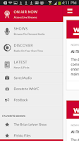 Screenshot of WNYC