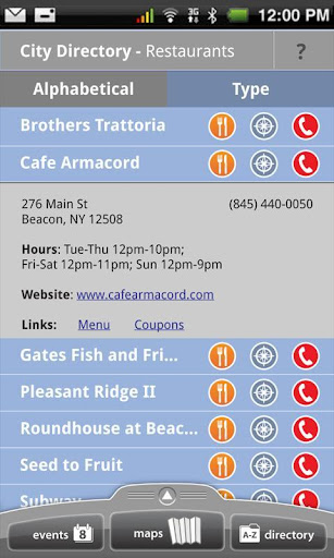 Beacon NY Tourist Guide