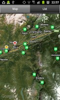 Screenshot of Campings Valais-Wallis