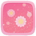 App Pink Flower Toucher Pro Theme apk for kindle fire