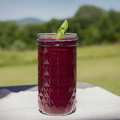 Anti-Aging Blueberry Detox Smoothie