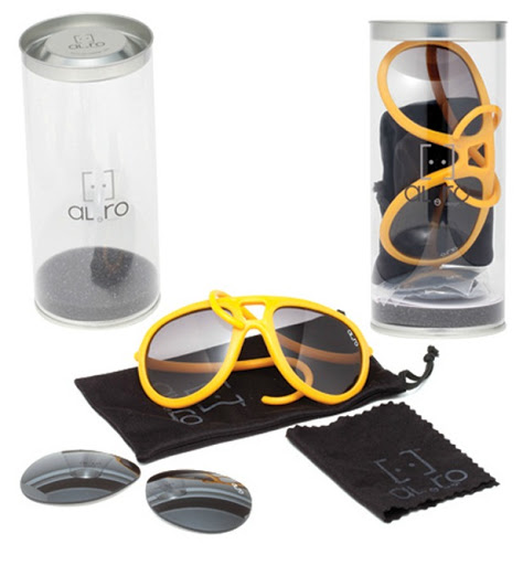 ALeRO Rubber Sunglasses pack