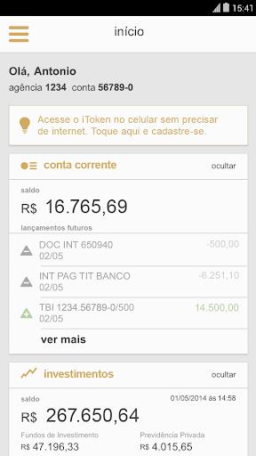 itau-personnalite for android screenshot