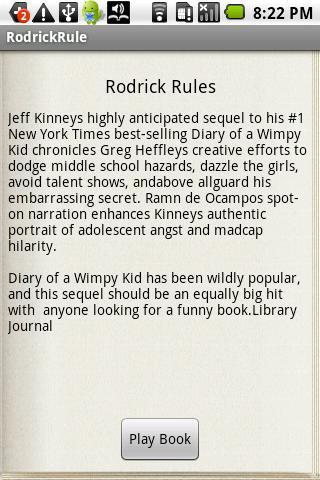 Rodrick Rules Audiobook