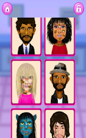 Screenshot of Celebrity Fashion Salon