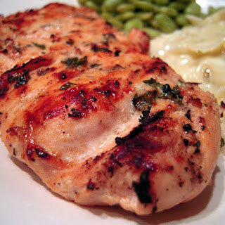 Lemon-Basil Buttermilk Grilled Chicken