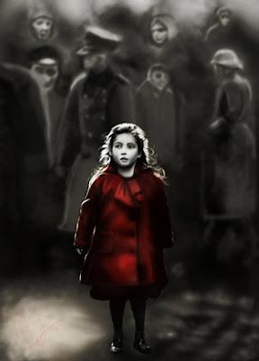 Girl in Red Coat