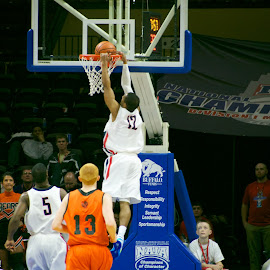 Breakaway Dunk by Jason Gajan - Sports & Fitness Basketball