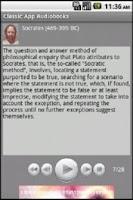 Screenshot of P1/19 Philosophy Audiobook