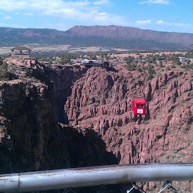 Cable Car at Royal Gorge by Chy Freud - City,  Street & Park  Amusement Parks