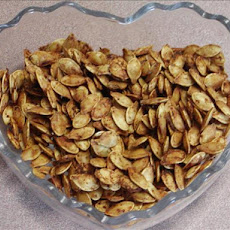 Roasted Pumpkin Seeds With a Kick from Kim!