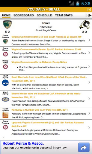 Virginia Commonwealth Basketba
