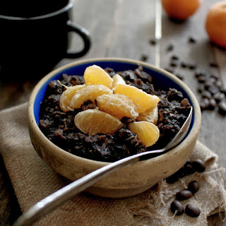 Orange Chocolate Coffee Oatmeal