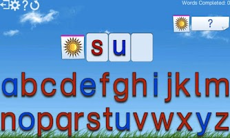 Screenshot of Montessori Words & Phonics