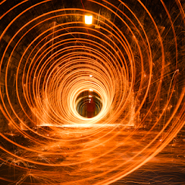 AS Tunnel by Don Alexander Lumsden - Abstract Light Painting