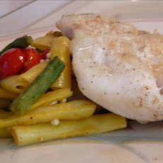 Orange Roughy in Garlic Butter