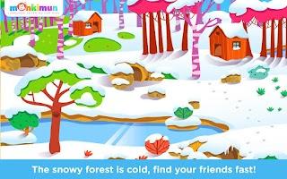 Screenshot of Monki Hide & Seek 🙈 For Kids