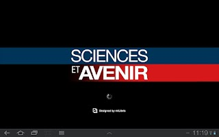 Screenshot of Sciences et Avenir magazine