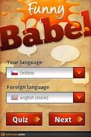 Screenshot of Funny Babel
