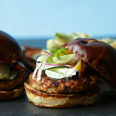 Umami Grilled Turkey Burger