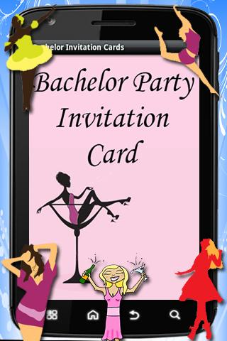 Bachelor Party Invitation Card
