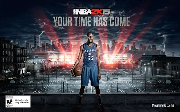 Kevin Durant unveiled as the cover star for NBA 2K15