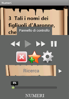 Screenshot of Bibbia Audio in Italiano