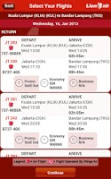 Screenshot of LionAir