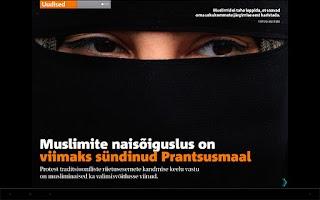 Screenshot of Eesti Päevaleht