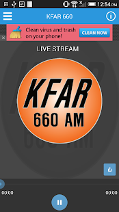 KFAR, 660AM Fairbanks - screenshot