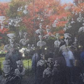 Korea Wall by Jessica Aikins - People Portraits of Men (  )