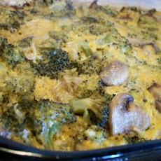 Good Eats Broccoli Noodle Casserole