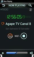 Screenshot of El Salvador Radio